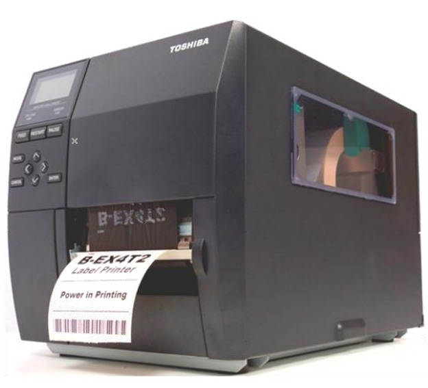 TOSHIBA B-EX4T2 / Imprimante d'étiquettes industrielle