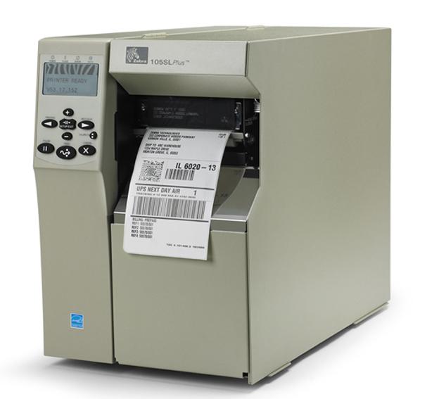 ZEBRA 105SL Plus / Imprimante d'étiquettes industrielle