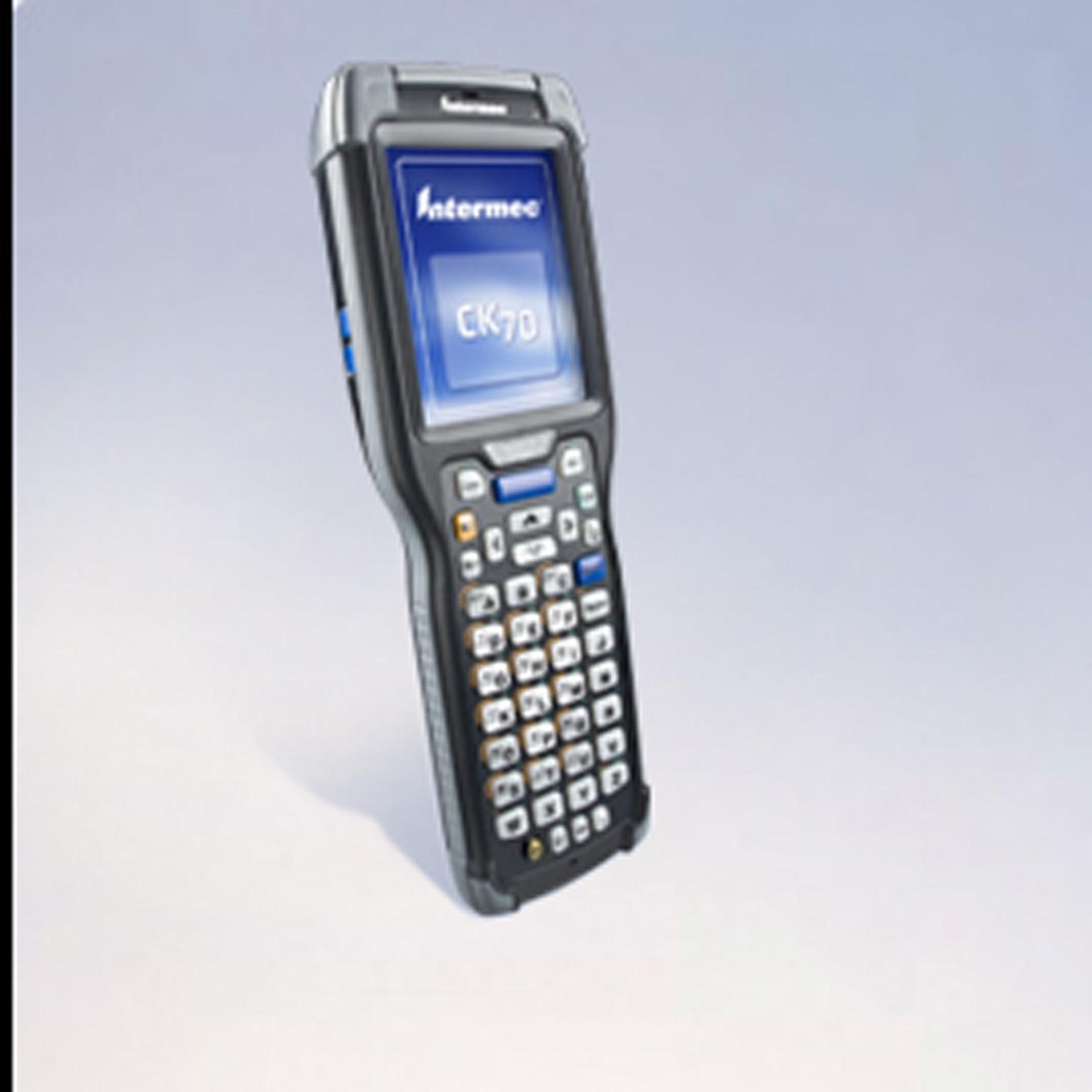 Terminal portable Honeywell Intermec CK70