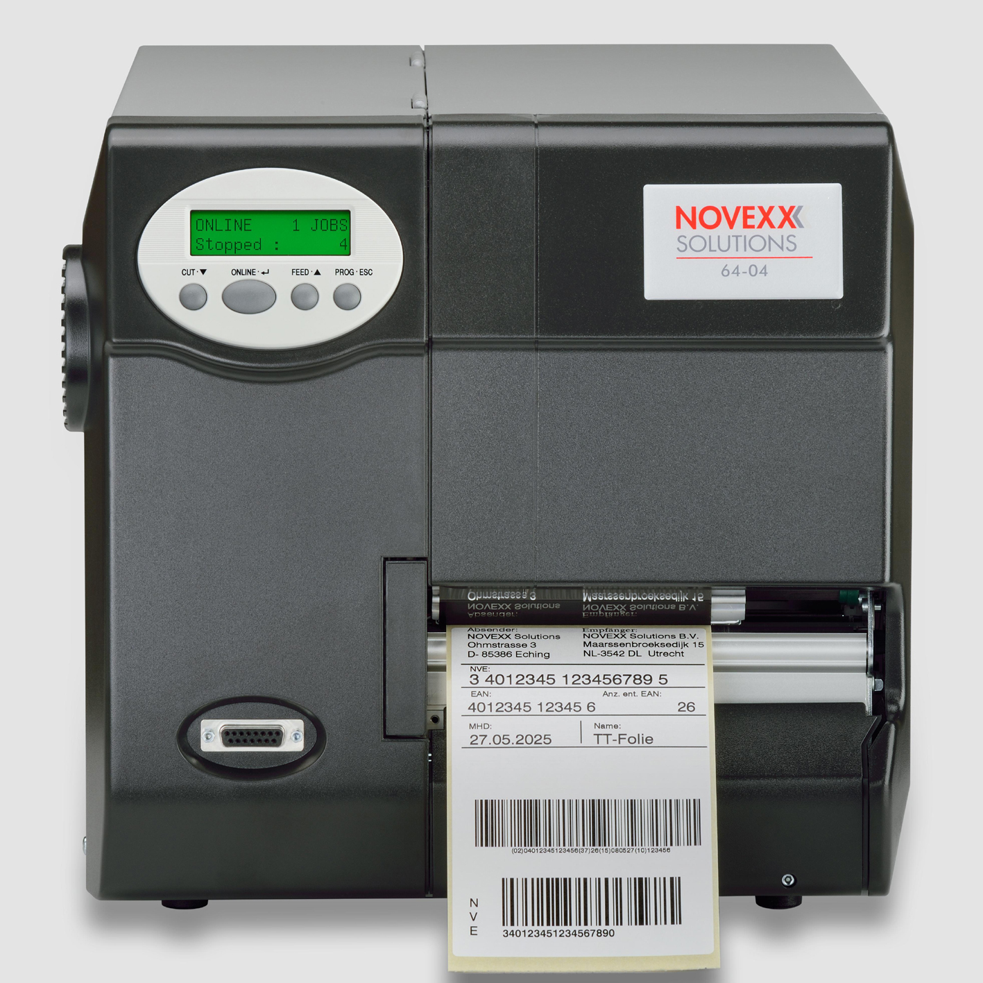 Imprimante d'étiquettes industrielle AVERY 6404-ALPHAPRINT
