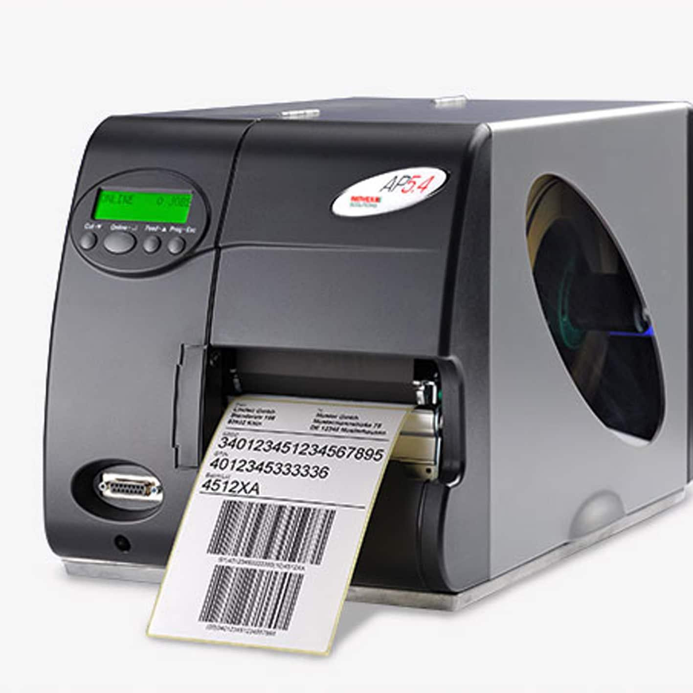 Imprimante d'étiquettes industrielle Avery AP5.4-ALPHAPRINT