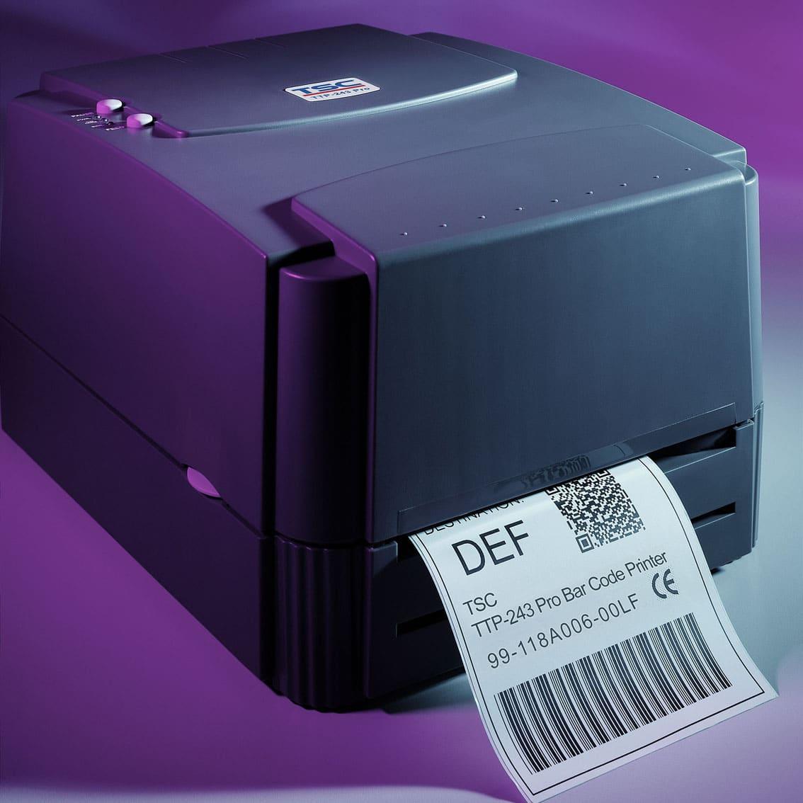 Imprimante d'étiquettes transfert thermique TSC TTP243 Pro-ALPHAPRINT