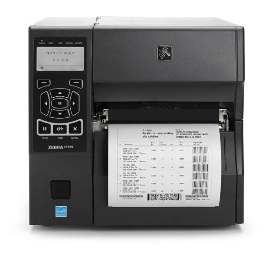Imprimante d'étiquettes industrielle ZEBRA ZT420-ALPHAPRINT