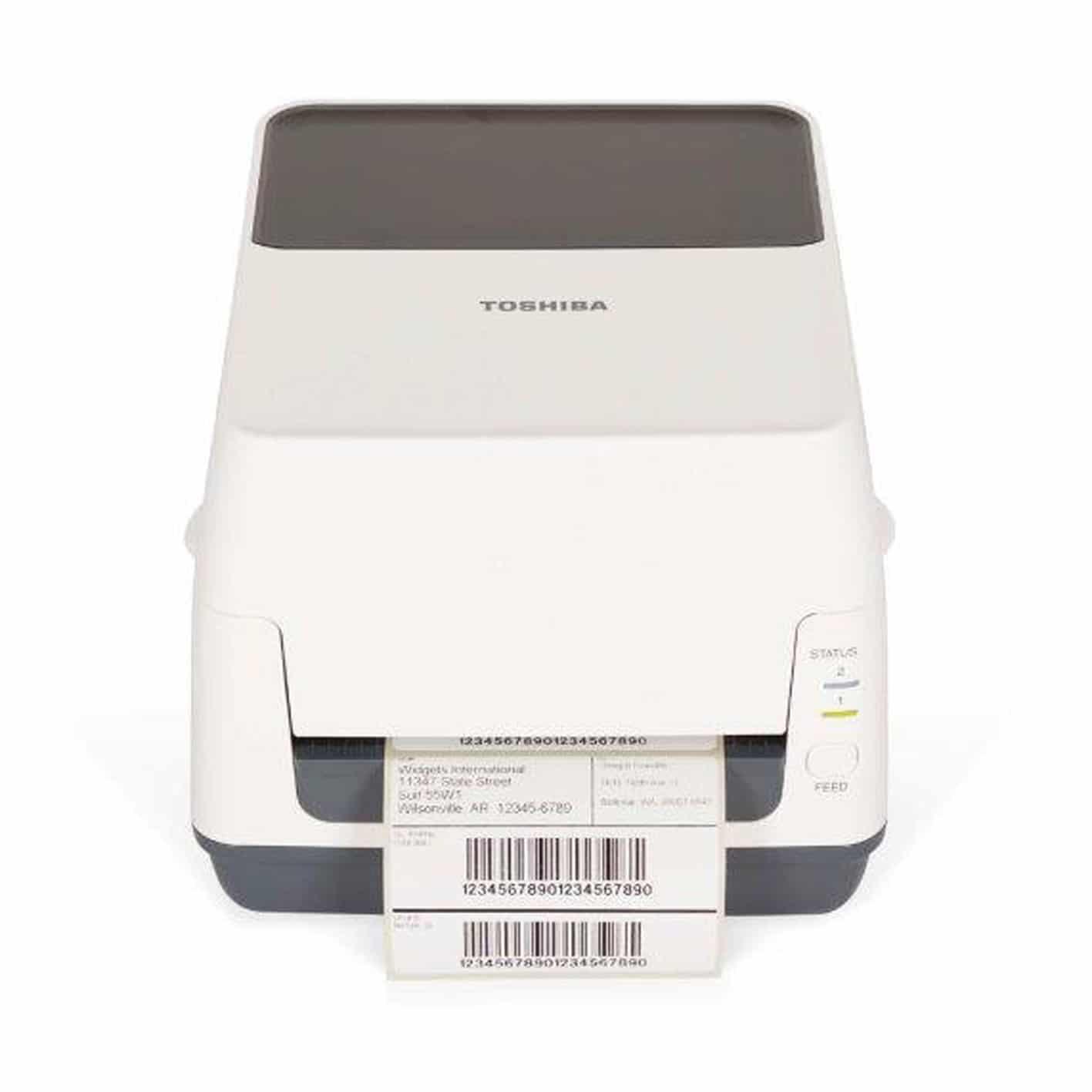 Imprimante d'étiquettes de bureau Toshiba B-FV4T-ALPHAPRINT