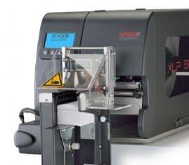 NOVEXX XLP-504 Textile / Imprimante d'étiquettes textiles avec massicot empileur