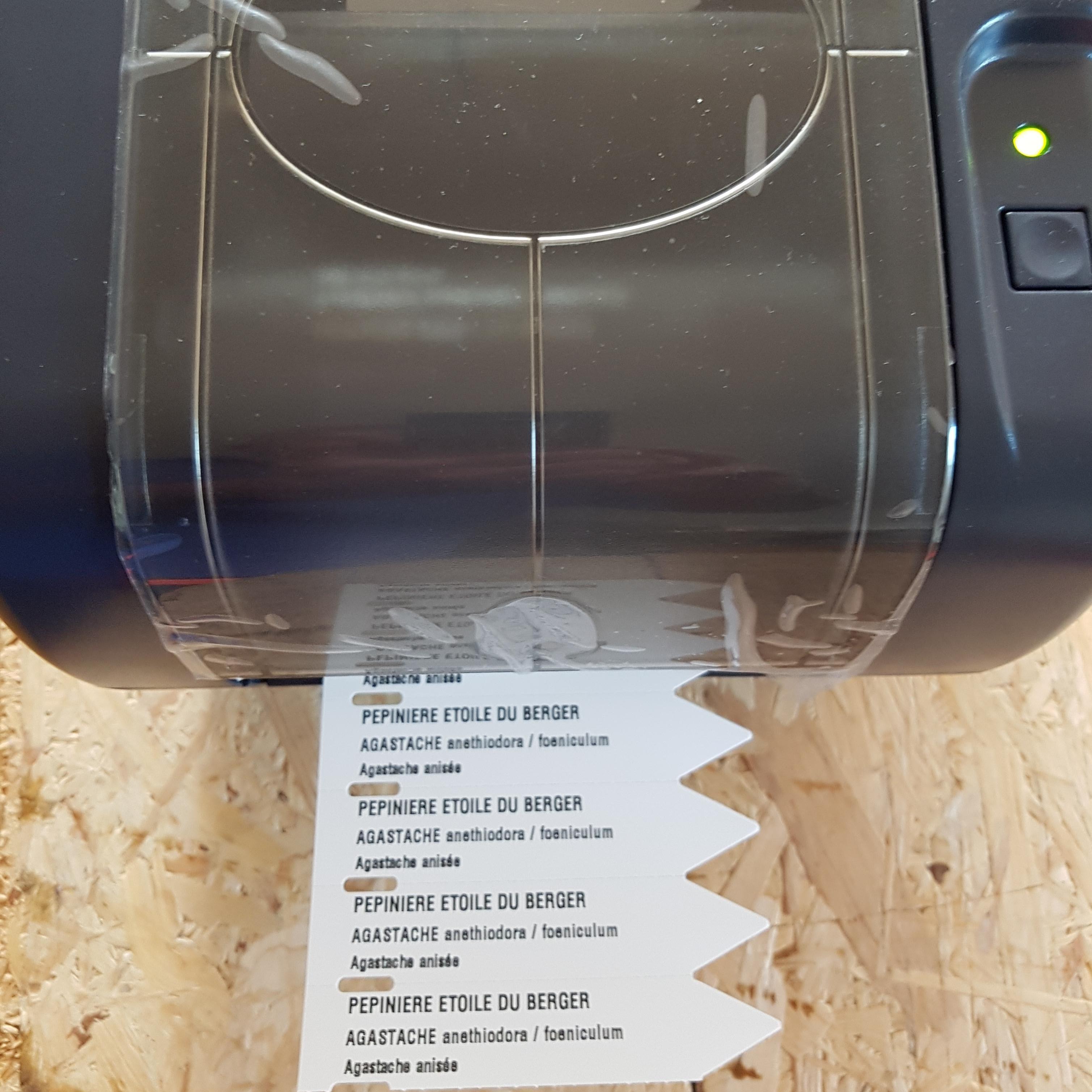 Etiquettes à piquer